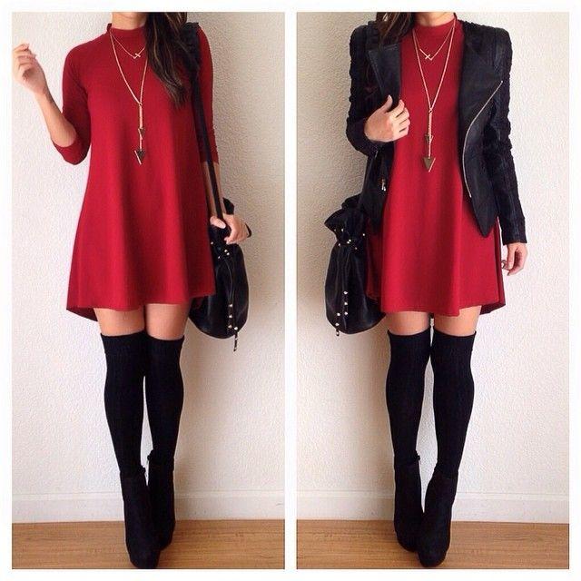 Dress from @DAILYLOOK @DAILYLOOK ❤️ Visit www.dailylook.com for more amazing pieces! ❤️ Jacket- @posh_shop_la #dailylook - @heyitsannabanana- #webstagram