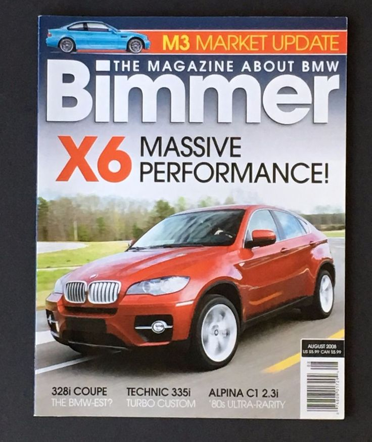 August 2008 Bimmer BMW Magazine X6 E71 Sport Activity Coupe Performance.  BmwSmokingMintPeppermintSmockingTobacco ...