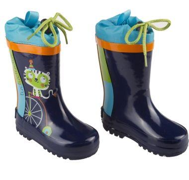 botas agua niño