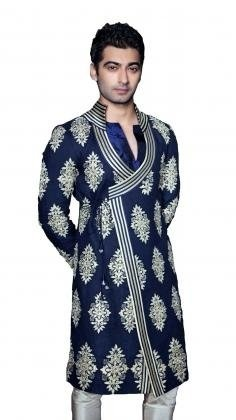 The sherwani for wedding is the choice of the most of Indian grooms. This Indian bridal wear for men is really popular in the country, worn for the weddings and many other special occasions.