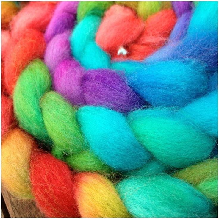 Rainbow fibre