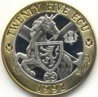 El unicornio es el animal nacional de Escocia