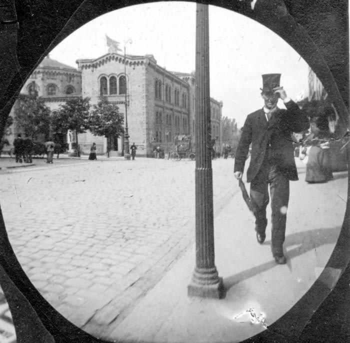 Student In 1890s Secretly Photographs People With Hidden Spy Cam - 9GAG