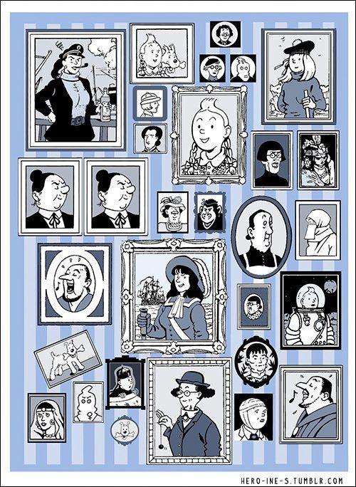 Twitter @mercredibd  D'après @ActuaLitte  c'est l'anniversaire de Tintin ! Et joyeux anniversaire avec le projet HÉRO(ÏNE)S @lyonbd  http://hero-ine-s.tumblr.com/ Translate from French