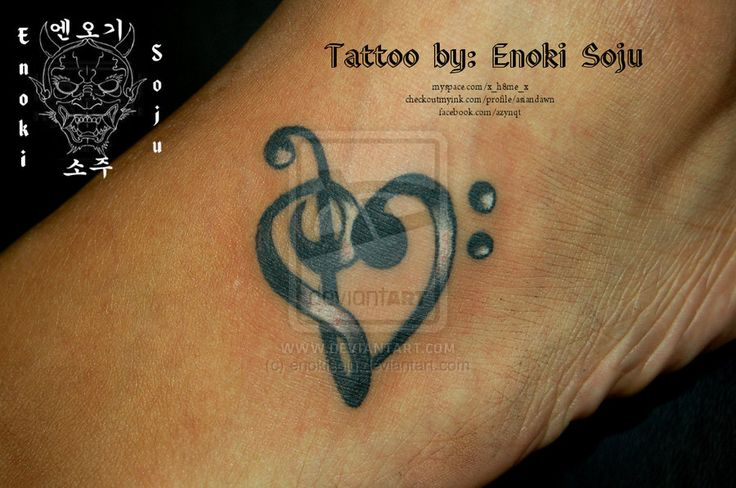 17 best ideas about treble clef heart on pinterest music for Treble and bass clef heart tattoo