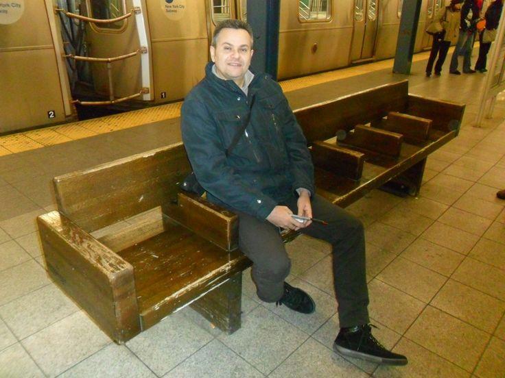 New York, in attesa del metrò