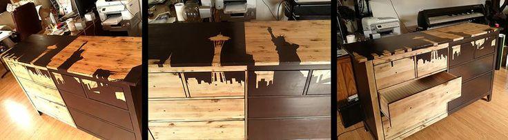 Seattle/NYC dresser