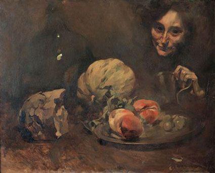 Frutos de Outono (1907). Columbano Bordalo Pinheiro (1857-1929). Óleo sobre tela (59 cm x 73 cm). Museu do Chiado – Museu Nacional de Arte Contemporânea, Lisboa.