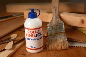 Come fare la colla vinilica in casa - Basta poco per realizzare in casa, con ingredienti naturali, la colla vinilica, un prodotto molto utilizzato soprattutto dai bambini.