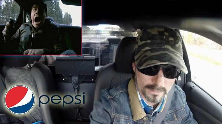Pepsi Max test drive 2 - Pepsi MAX & Jeff Gordon Prank Travis Okulski...He didn't believe the original prank was real-he was in for the surprise of his life!