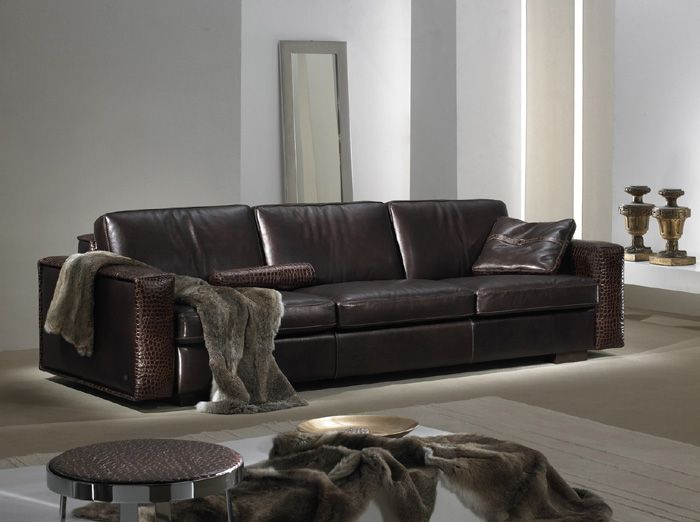 Lovely Contemporary Leather Furniture | Contemporary And Modern Leather Sofa