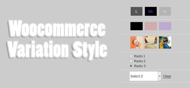 we have released 2 versions of Woo Variations Style Buttons for ( WooCommerce 2.4+ and WooCommerce 3+ )