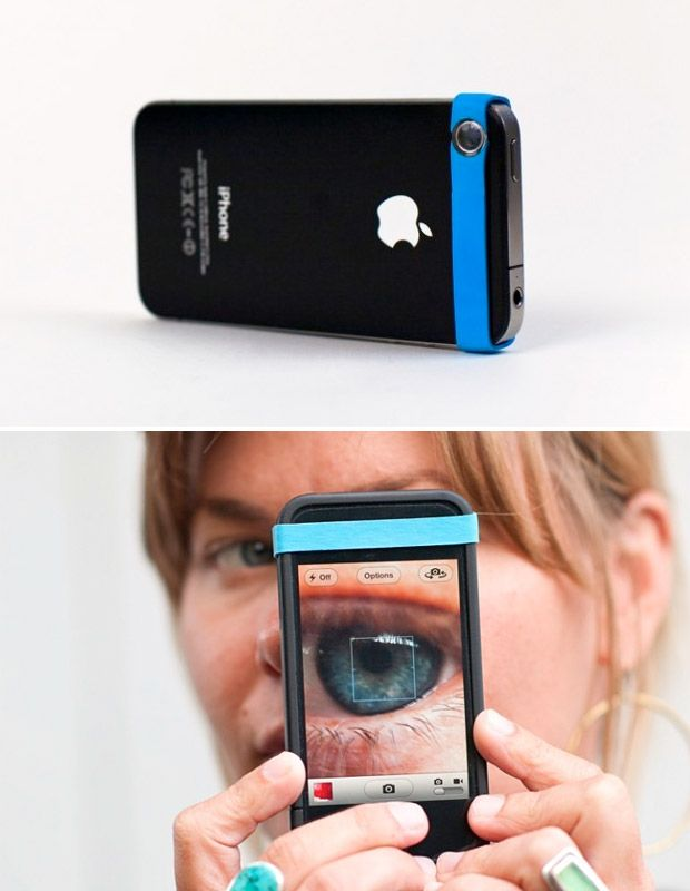 oh my gosh do i want this!! the iphone and a macro attachment for the camera! amazing!!