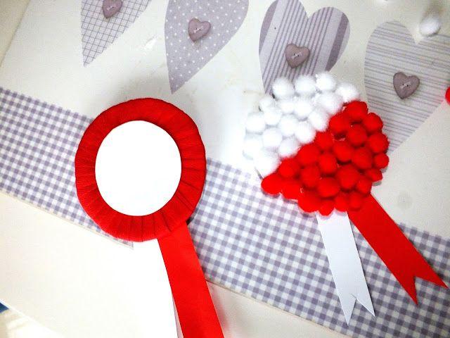 Prace Plastyczne Na Swieto Niepodleglosci Blondynki Kreatywnie Crafts Kindergarten Decorations Crafts For Kids