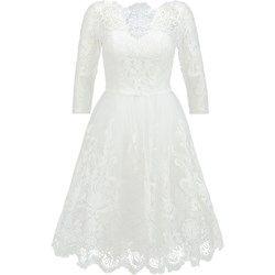 Chi Chi London Sukienka koktajlowa white