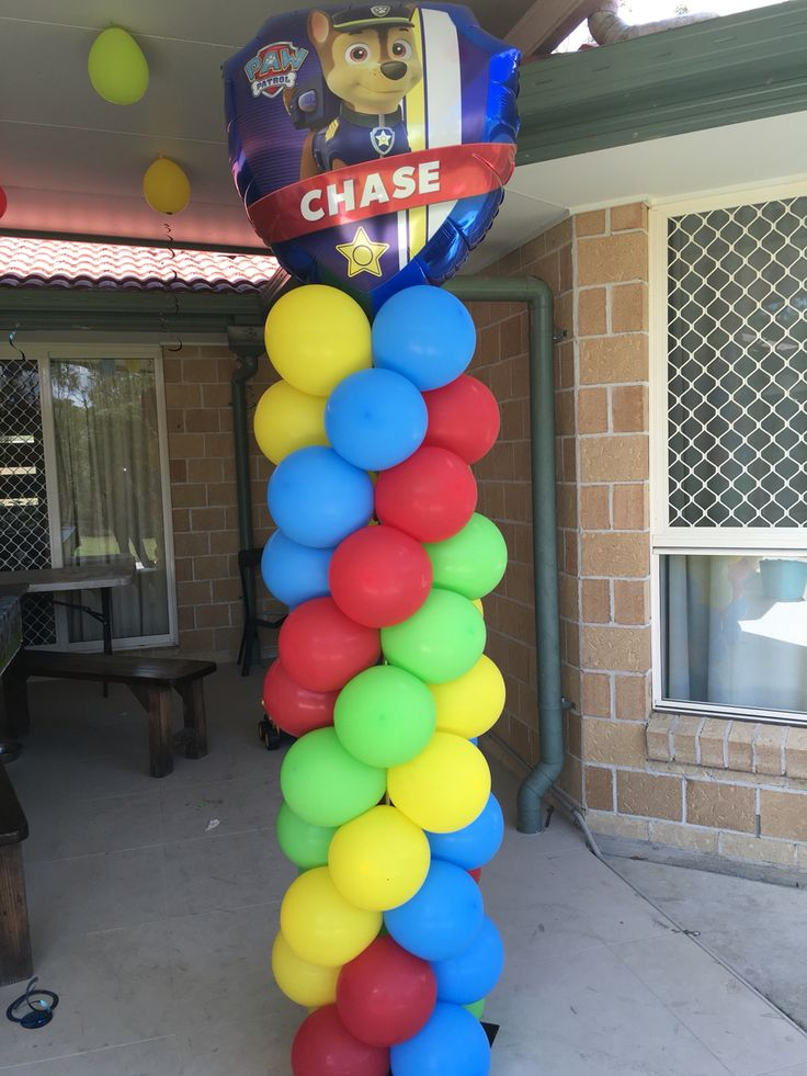 The best paw patrol balloons ideas on pinterest