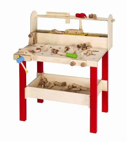 hape my professional workbench wood toy Pinterest