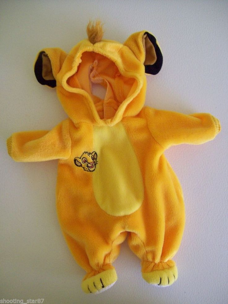 Super Cute Simba Water Baby Doll Costume.