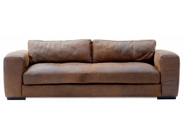Palermo 2 Seater Sofa (Beta Brown)