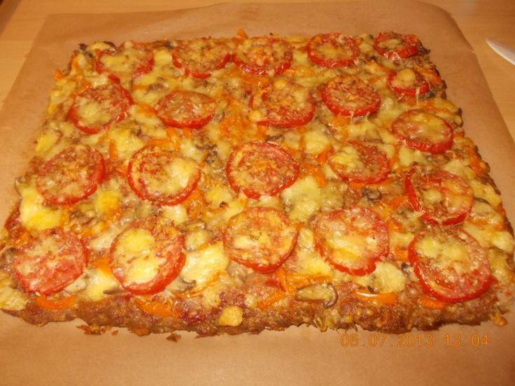 Borrelhapje: Gehaktpizza Van De Plaat Zonder Deeg ! recept   Smulweb.nl