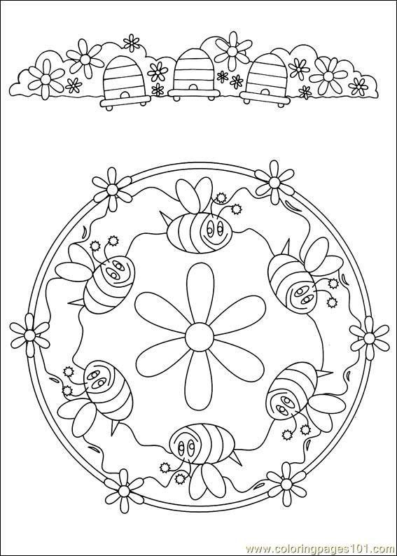57 best * BIJEN kleurplaten! images on Pinterest Coloring books - best of bee coloring pages preschool
