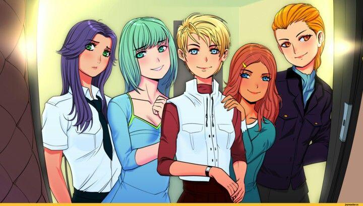 Lena, Miku, Slavya, Ulyana, Alisa (Mod)
