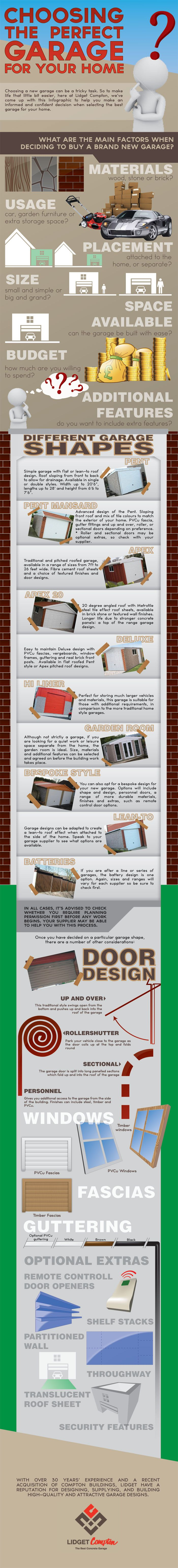 23 best pent garages images on pinterest garages concrete thinking of buying a new concrete garage take a look at our useful infographic that