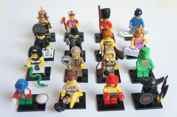 8805 Lego Minifiguren Serie 5 aussuchen aus allen 16 Figuren Neu Minifigures