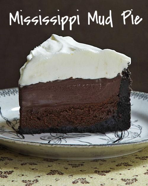 """Mississippi Mud Pie (aka Muddy Mississippi Cake) 