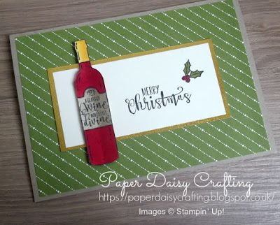 Half Full Christmas cards - Stampin' Up! - Paper Daisy Crafting