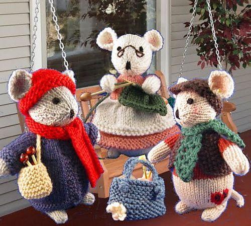 Ravelry: The Knitting Club pattern by Yvonne Boucher