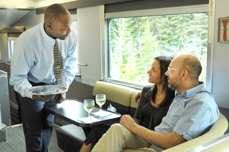 Experience the best of Canada on wheels. With the world class service, food, comfort, entertainment, surfing internet and comfort space...whatever the idea of a good time, VIA Rail Canada let travellers make the most of it.  #viarail #canada #comfor