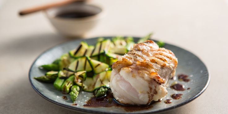 In this delicious summer monkfish recipe, chef Ollie Moore pairs the meaty texture and flavour of monkfish with a rich red wine and caramel sauce