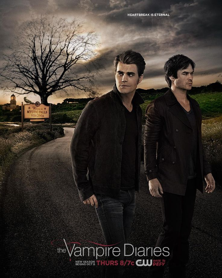 """""""Embark on a new journey with The Salvatores when #TVD premieres Thursday, October 8 at 8/7c."""""""