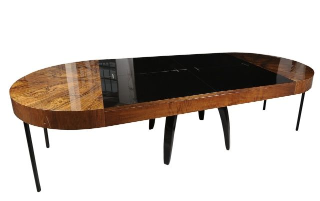 Halabala Jindřich, Czechoslovakia, dining table from Tulipán set, 1930 - 1939, restored