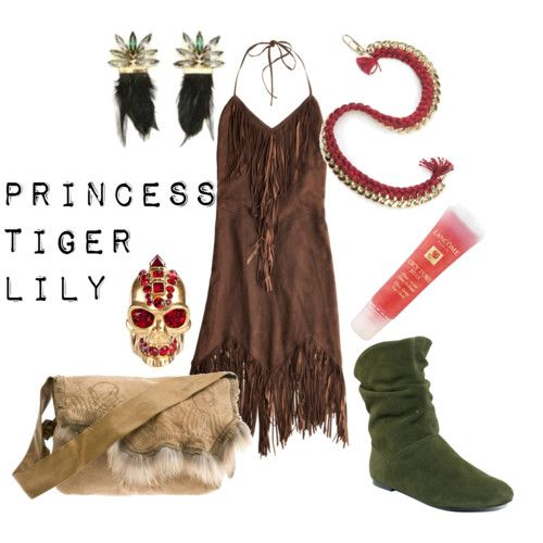 Tiger lily costume-- yes the dress as inspiration. None else. Maybe  sc 1 st  Pinterest & The 14 best Tiger Lilly images on Pinterest | Native american ...