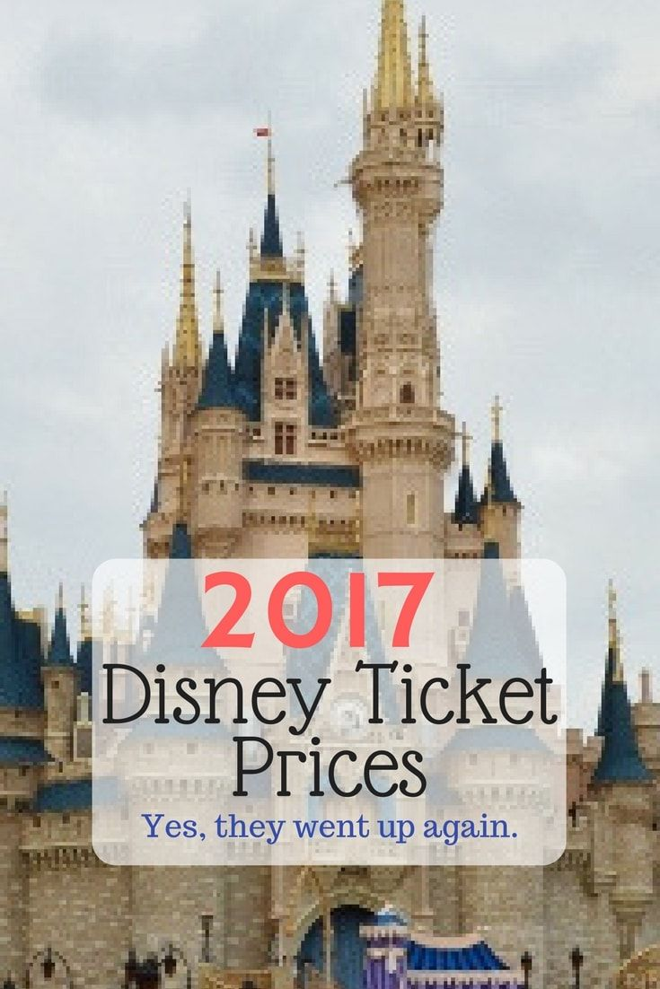 Here is the break down for this year's Walt Disney World Ticket Prices via @disneyinsider