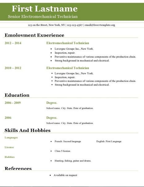 517 best Latest Resume images on Pinterest Perspective, Cleaning - open office resume
