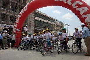 6. Karatay Ödüllü Düz Bisiklet Yarışları Başladı