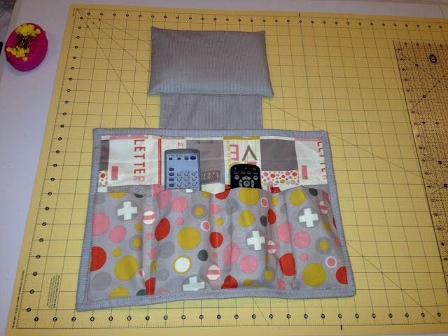 Southern Fabric: scrap bag TV craft