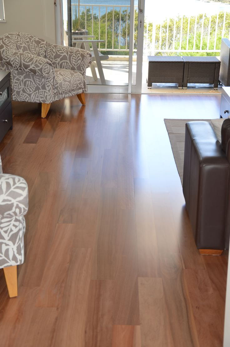 Timber flooring - Brushbox