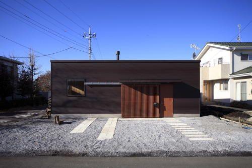 宇都宮の薪ストーブのある平屋住宅の設計