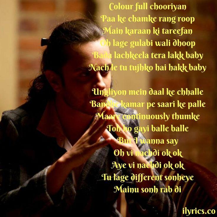 Frankly Tu Sona Nachdi Lyrics From Guest In London By