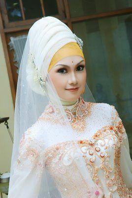 Jilbab Pengantin Moden