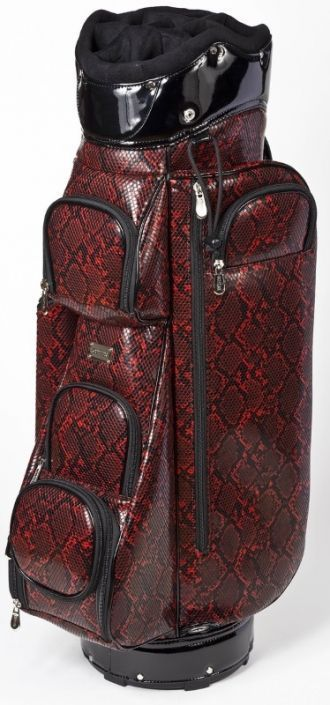 Check out our Crawford Red Snake Cutler Ladies Golf Cart Bag! Find the best  golf gear and accessories at  lorisgolfshoppe Click through to own this  animal ... 7ac81d91716e8