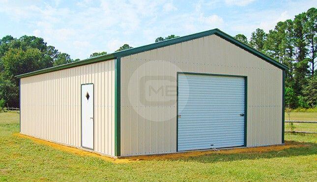 24x36 Detached Metal Garage P Metal Garages Metal Buildings Carport