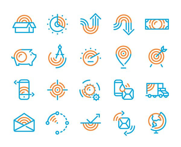 Pitney Bowes — Corporate Icons on Behance