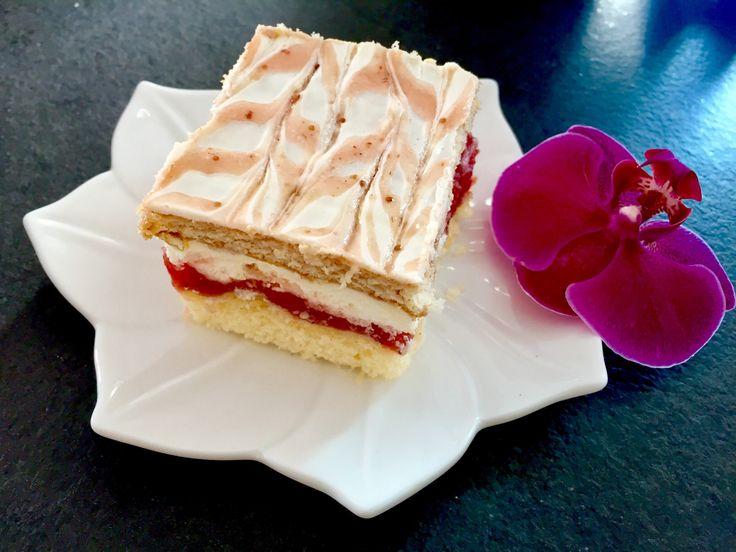 Truskawkowa mgiełka - przepyszne ciasto