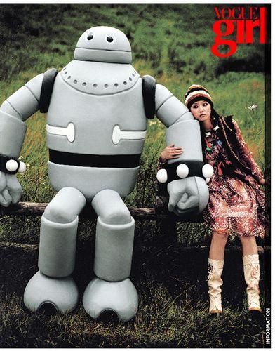 Vogue girl Korea September 2005 #editorial