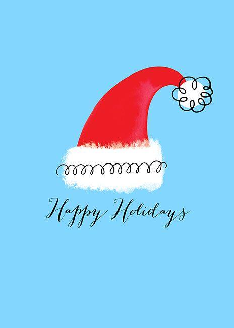 Margaret Berg Art: Santa+Hat+Holiday